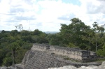 Looking southeast from the top of Caracol